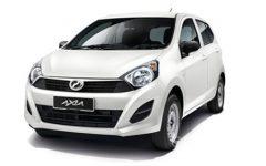 Perodua Axia (via MCR (Ipoh))
